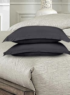 Combed Cotton Jersey Fitted Pillow Case Set With Aloe Vera Treatment