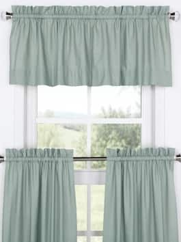 Kitchen Tier Curtain & Valance Set