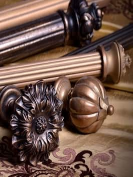Wooden Curtain Hardware
