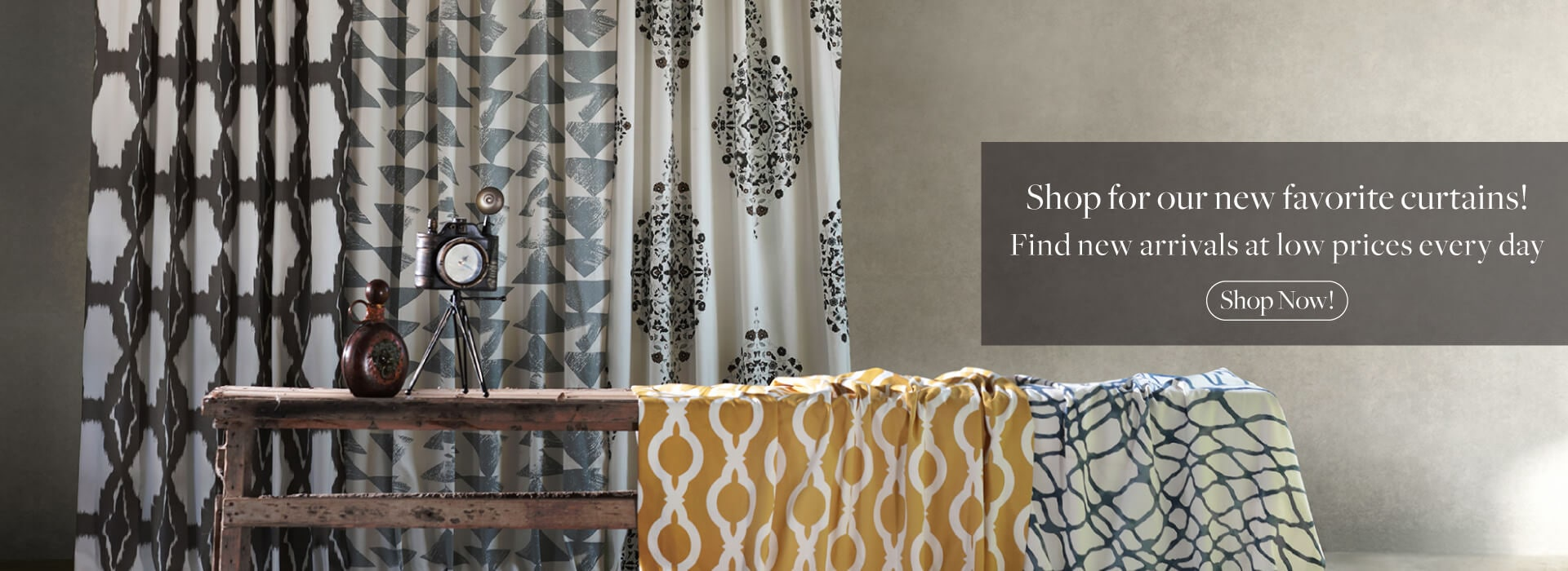 Spring Sale! Take 50% off On Hand Picked Selected Designer Curtains