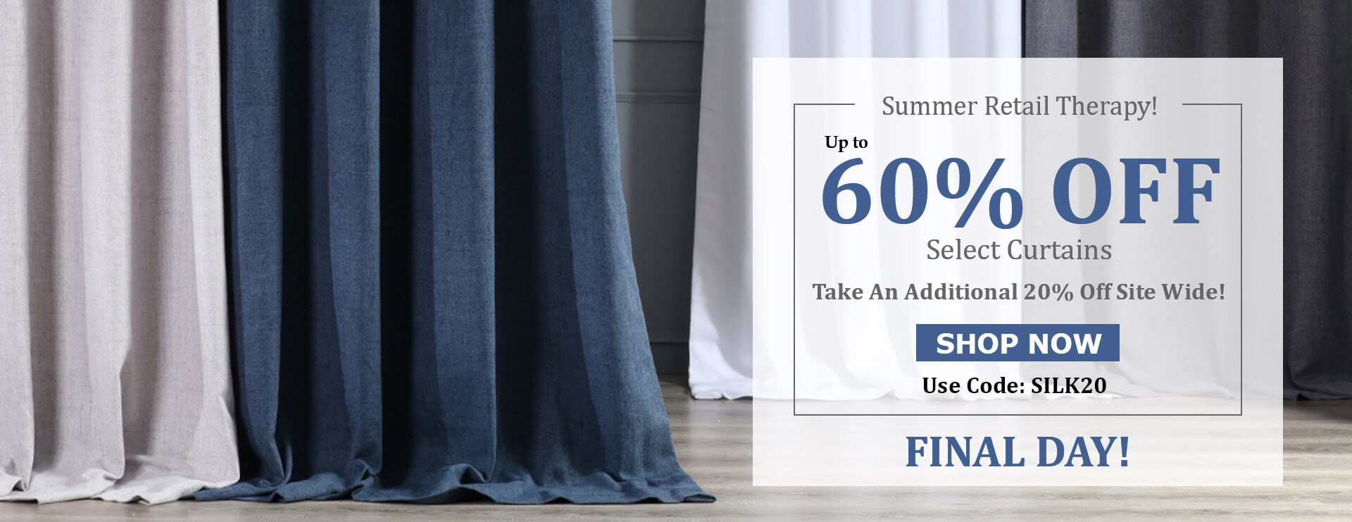 Summer Retail Therapy - Save Up To 60%