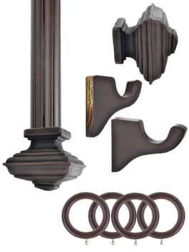 English Walnut Wooden Hardware