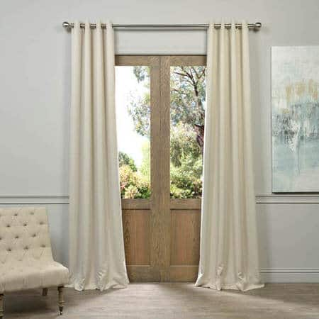 Eggnog Grommet Room Darkening Curtain