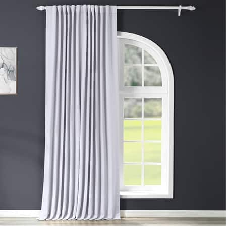 Fog Grey Extrawide Blackout Curtain