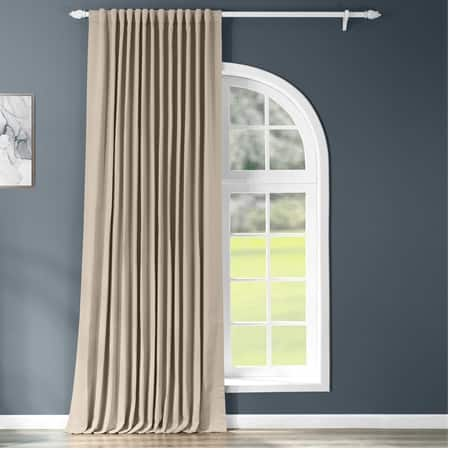 Classic Taupe Extrawide Blackout Room Darkening Curtain