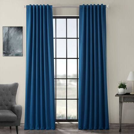 Hacienda Blue Room Darkening Curtain