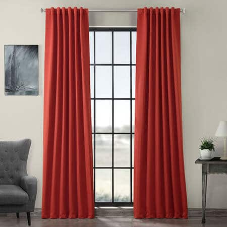 Tango Red Room Darkening Curtain