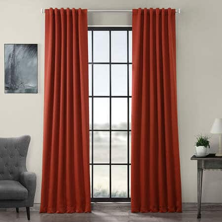 Spiced Berry Room Darkening Curtain