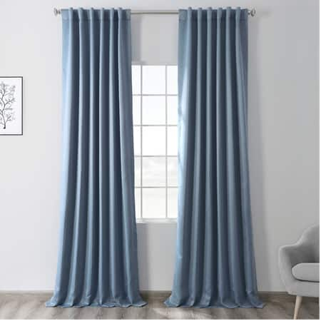 Poseidon Blue Room Darkening Curtain