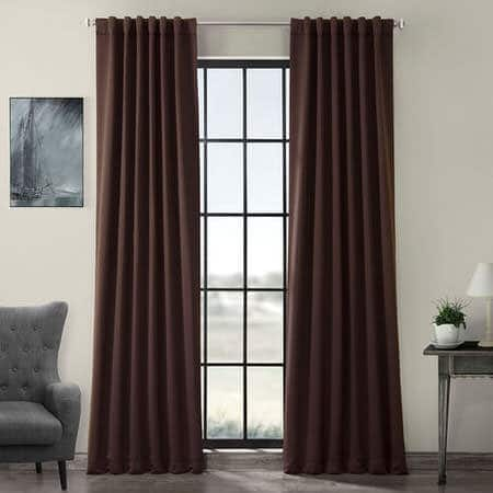 Java Pole Pocket Room Darkening Curtain