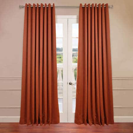 Blaze Grommet Extra Wide Blackout Curtain