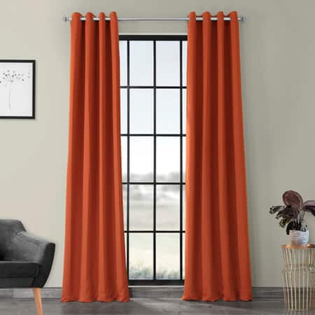 Blaze Grommet Room Darkening Curtain