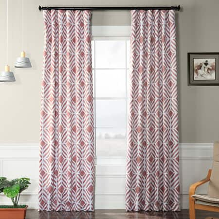Palisade Rose Room Darkening Curtain