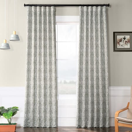 Amara Green Blackout Room Darkening Curtain