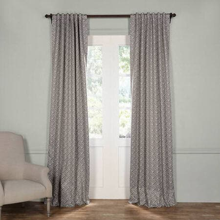 Cobblestone Taupe Blackout Curtain