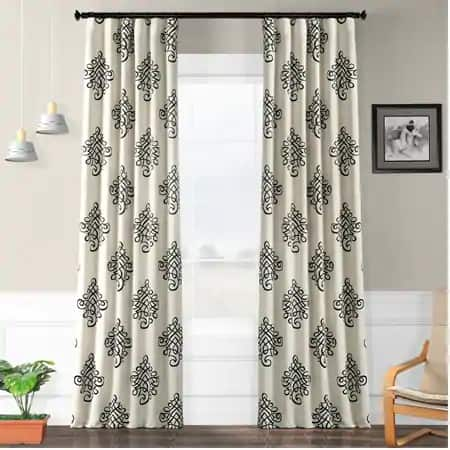 Tugra Blackout Room Darkening Curtain