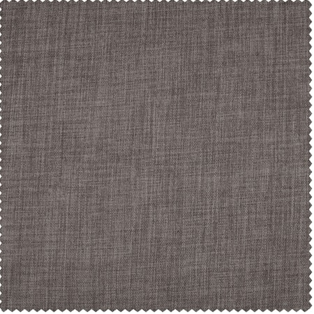 Mink Faux Linen Blackout Room Darkening Swatch