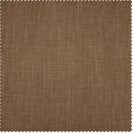 Butterscotch Faux Linen Blackout Room Darkening Swatch