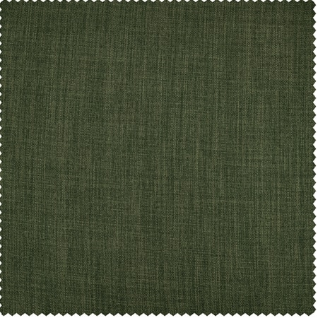 Tuscany Green Faux Linen Blackout Swatch