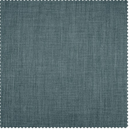 Sea Thistle Faux Linen Blackout Room Darkening Swatch