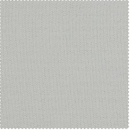 Oyster Faux Linen Blackout Room Darkening Swatch