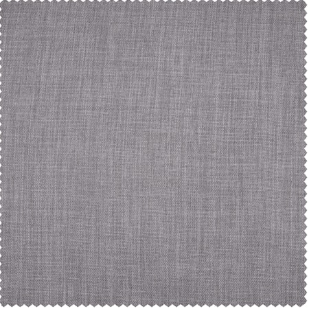 Clay Faux Linen Blackout Swatch