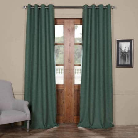 Jadite Bellino Grommet Room Darkening Curtain