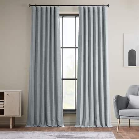 Gulf Blue Bellino Room Darkening Curtain