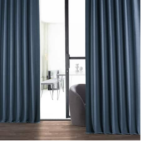 Wild Blue Bellino Room Darkening Curtain