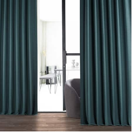 Bayberry Teal Bellino Blackout Curtain