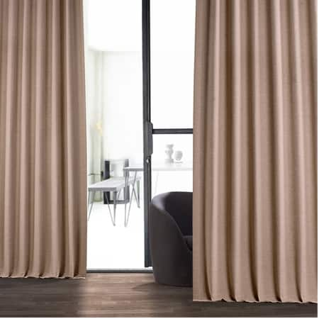 Abalone Pink Bellino Blackout Room Darkening Curtain