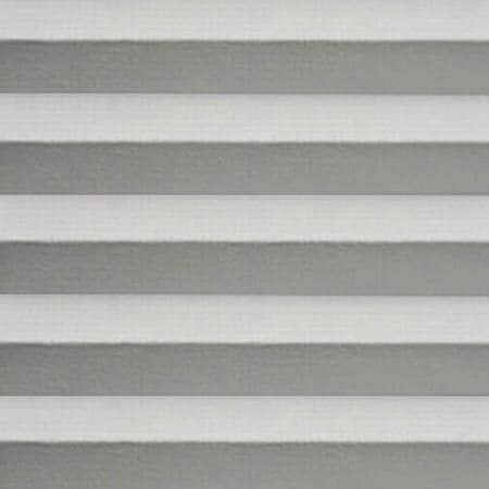 Summit Glacier Pale Grey Room Darkening Cordless Cellular Shade Swatch