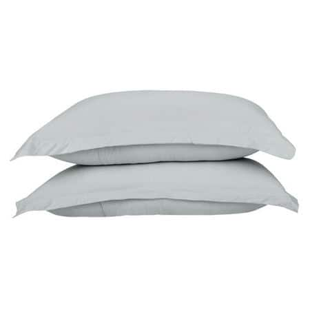 Cotton Jersey Silver Pillow Cases
