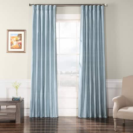 Sunstone Textured Dupioni Silk Curtain