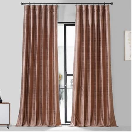 Sugar Maple Textured Dupioni Silk Curtain