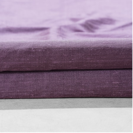 Prussian Plum Textured Dupioni Silk Swatch