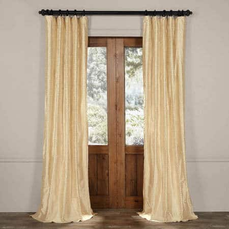 Borrache Pearl Silk Curtain