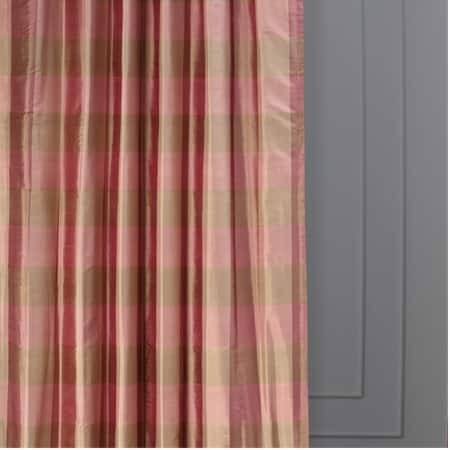 Rosie Dawn Plaid Silk Curtain