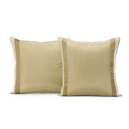 Bristol Silk Stripe Cushion Cover - Pair