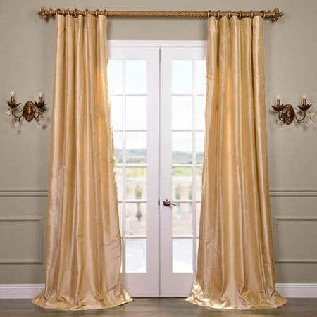 Cyprus Silk Taffeta Stripe Curtain