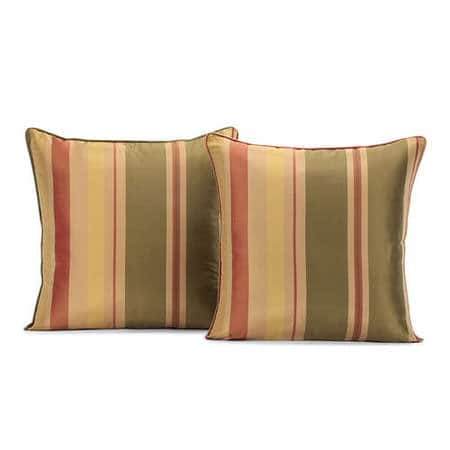 Pacific Heights Silk Stripe Cushion Cover - Pair