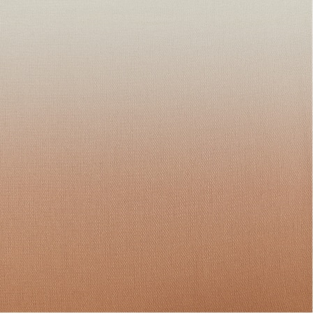 Ombre Salmon Faux Linen Semi Sheer Swatch
