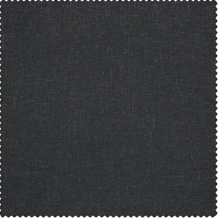 Slate Grey Heavy Faux Linen Fabric