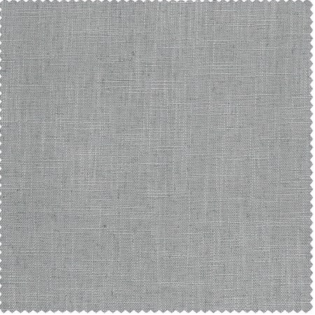 Ash Grey Heavy Faux Linen Fabric