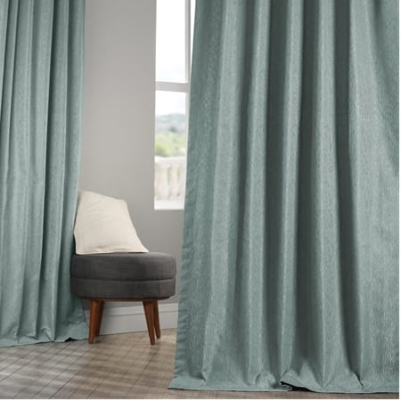 Birchwood Larimar Faux Silk Jacquard Curtain