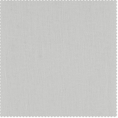 Crisp White French Linen Fabric