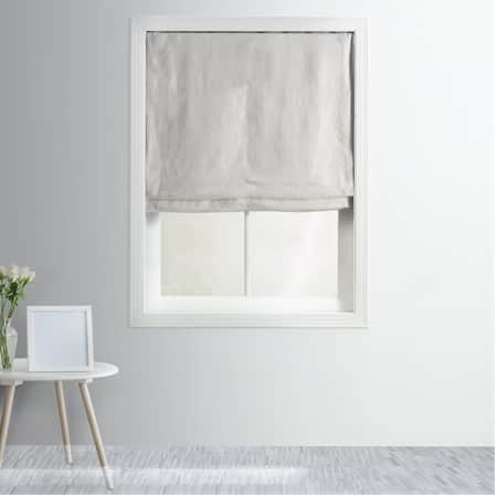 French Linen Roman Shade