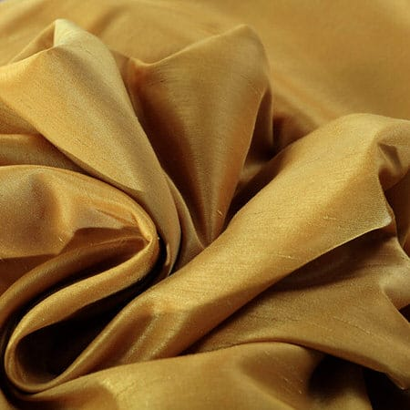 Allegro Gold Vintage Textured Faux Dupioni Silk Swatch
