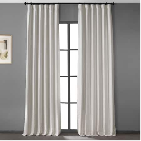 Sweet Cream Vintage Dupioni Hotel Blackout Curtain