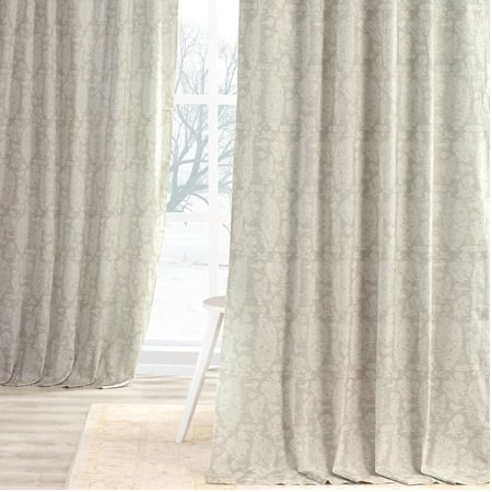 Sierra Tan Digital Printed Cotton Twill Curtain